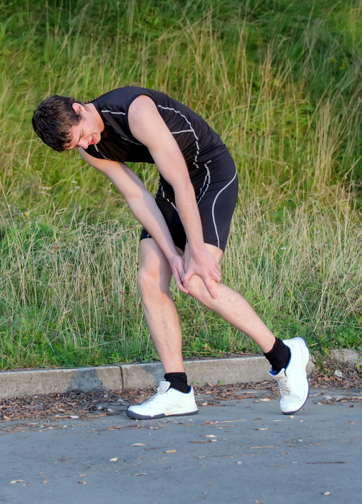 Sports injuries can be treated